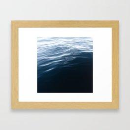 Ocean Stillness Framed Art Print