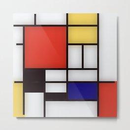 Piet Mondrian Metal Print