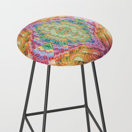 Psychedelic Journey GOA 1 Bar Stool