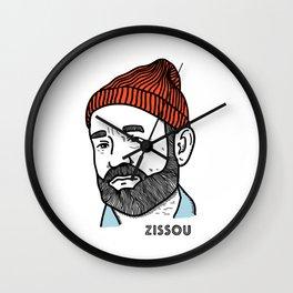Zissou Wall Clock