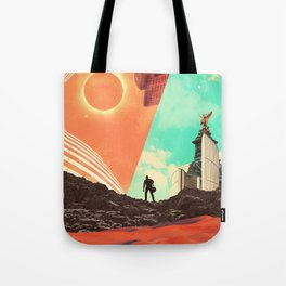 Leaving the Void Tote Bag