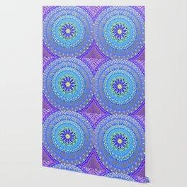 Peaceful Golden Mandala Wallpaper