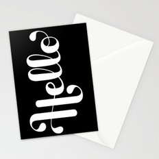 Hello Lettering Stationery Cards