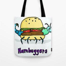 World's Best Hambugger Tote Bag