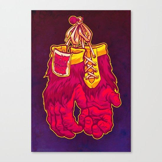 GORILLA GLOVES Canvas Print