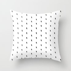 lightning bold pattern Throw Pillow