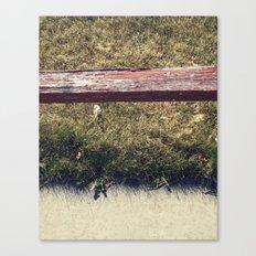 Ground // Grass // Grain Canvas Print