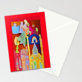 Rainbow Angel Stationery Cards