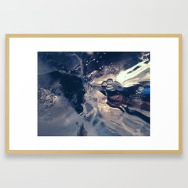 Ice Study Framed Art Print
