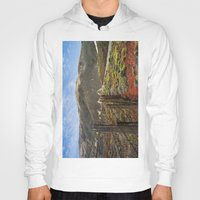 big sur Hoodies featuring Big Sur Mountains by Jeremiah Wilson