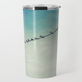 stepping out of line Travel Mug