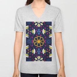 Colorful Mandala #02 Unisex V-Neck
