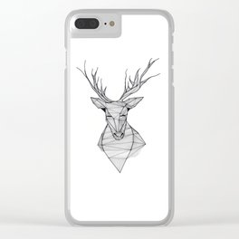 Deer Clear iPhone Case