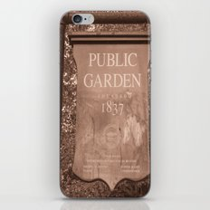 Public Garden iPhone & iPod Skin