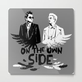 On the own SIDE Metal Print