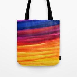 Yellow Horizon Tote Bag