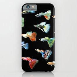 Guppies iPhone Case