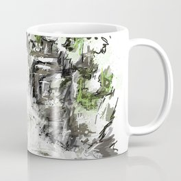 Abstract falls Coffee Mug