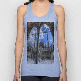 The Blue Mosque Istanbul Unisex Tank Top