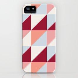 Trio (maroon) iPhone Case