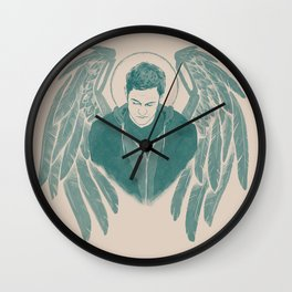 Gadreel creme Wall Clock