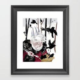 Blackbird Pie Framed Art Print