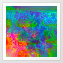 Our Psychedelic Nature Art Print