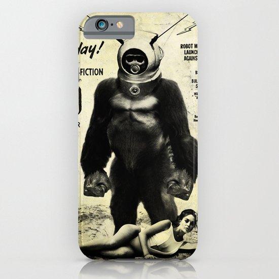 Robot Monster iPhone & iPod Case