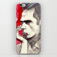 nick cave iPhone & iPod Skins featuring Nick Cave by Smog
