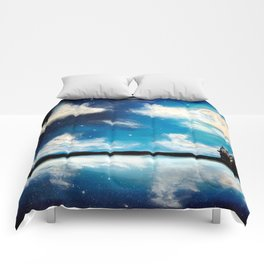 Magical sky Comforters
