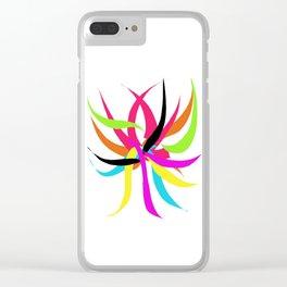 Fuego Libre Clear iPhone Case