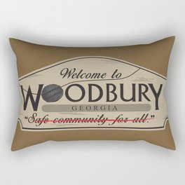 Welcome to Woodbury Rectangular Pillow