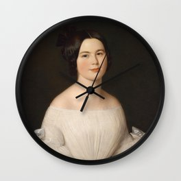 Portrait of A Woman Wall Clock