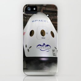 1346. SpaceX Dragon Capsule V2 iPhone Case
