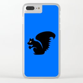 Angry Animals: Squirrel Clear iPhone Case