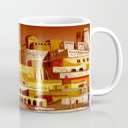 The fortress at sunset Coffee Mug