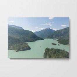 Diablo Lake Metal Print