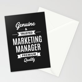 Marketing Manager Stationery Cards