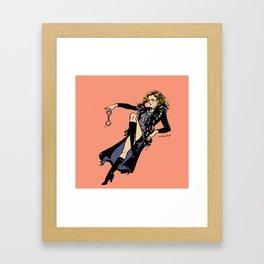 Joyce Summers Pin up Framed Art Print