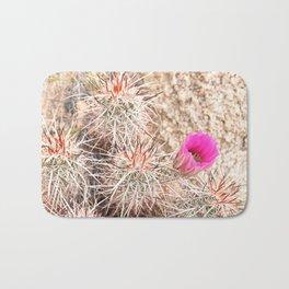 Prickly Pink Bath Mat