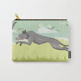 Scottish Deerhound Carry-All Pouch
