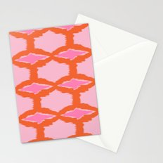 Ikat Diamond Stationery Cards