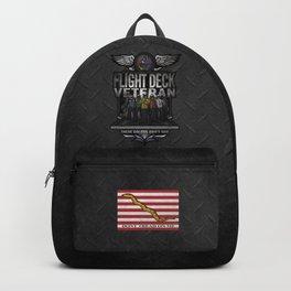 "Flight Deck Veteran ""These Colors Don't Run"" Backpack"