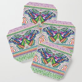 Tribal Butterfly Coaster
