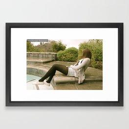 Rain & Pools Framed Art Print