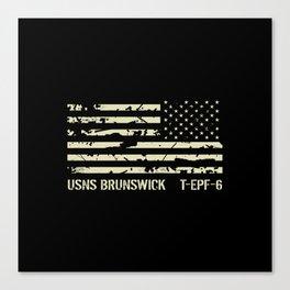 USNS Brunswick Canvas Print