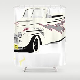 Grease Lightning! Shower Curtain
