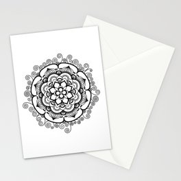 Colorful Floral Design Stationery Cards