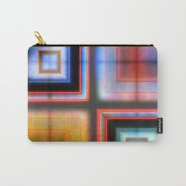 Multicolored Squares 1 Carry-All Pouch