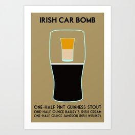 Irish Car Bomb Art Print